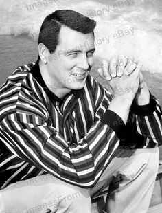 8x10 Print Rock Hudson Handsome Hunky Portrait 1954 #RHEI