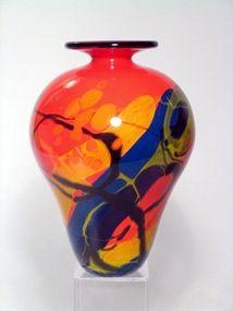 Ioan Nemtoi Cordoba Vase at Art Glass by Gary Gallery<3<3<3FABULOUS<3<3<3