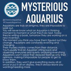 #ClassicAquarius #Aquarian Capricorn Aquarius Cusp, Aquarius Traits, Aquarius Quotes, Aquarius Woman, Capricorn And Aquarius, Virgo And Aquarius, Personality Chart, Aquarius Personality, Zodiac Sign Traits