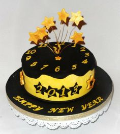New Year's Cake image