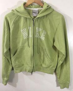 3530bf2b8f Nike Womens Full Zip Jacket w  Nike Spell Out Size M Mint Green Sz M
