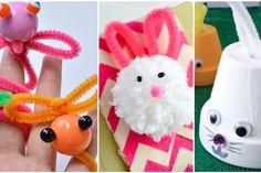 12 bricolages pour enfants à faire avec des cure-pipes!