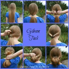 Gibson Tuck Hair Tutorial Using a Lilla Rose Flexi Hair Clip