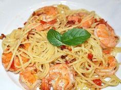 Spaghetti con Scampi | Fisch & Meeresfrüchte Rezept auf Kochrezepte.de von Tandarei