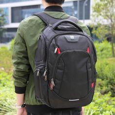 Amazon.com: Laptop Backpack - Evecase Waterproof Heavy Duty School Backpack fits…