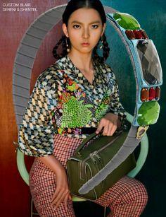 Headband inspired by Agnes in Cosmopolitan Malaysia January 2016