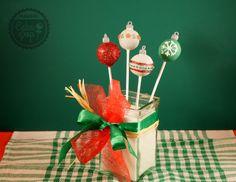 Recetas de Cake Pop con temas navideños: árbol de navidad,  gorro de Papa Noel, muñeco de nieve