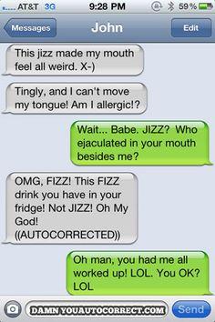 funny auto-correct texts - Funny Taste