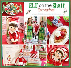 Elf on the Shelf Breakfast #christmas