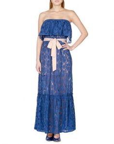 d3bec4539b5 All Over Lace Tube Dress Alternative Bridesmaid Dresses