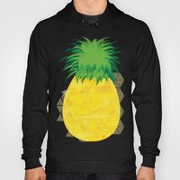 Hoody featuring Pineapple Crush by Megan Hillier