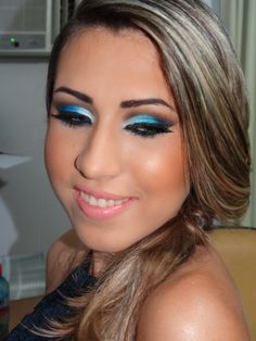 Make up para formatura.