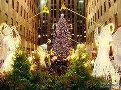 Natale a New York Albero di Natale al Rockfeller Center