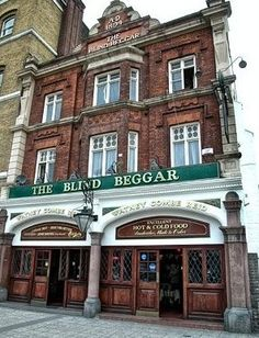 The blind Beggar pub whitechapel, had some fun times here...