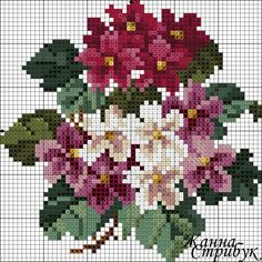 This Pin was discovered by Тат Beaded Cross Stitch, Cross Stitch Rose, Cross Stitch Flowers, Cross Stitch Embroidery, Embroidery Patterns, Hand Embroidery, Cross Stitch Designs, Cross Stitch Patterns, Decoupage Vintage