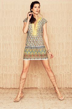 Ro Malay Printed Dress