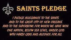 The Saints Pledge