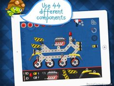 Construct a car app metallbaukasten spiel (4)