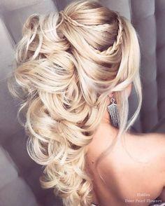 Elstile Wedding Hairstyles for Long Hair / www.deerpearlflow…