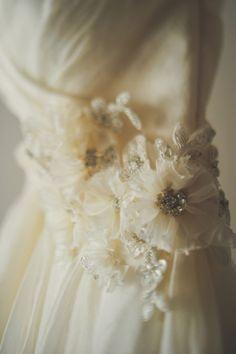watters wedding gown http://www.weddingchicks.com/2013/11/26/gold-and-gray-wedding/