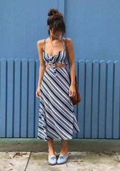 Musa do estilo: Larissa Busch - Guita Moda Casual Summer Outfits, Simple Outfits, Trendy Outfits, Casual Dresses, Fashionable Outfits, Modest Fashion, Fashion Outfits, Womens Fashion, Fashion Trends