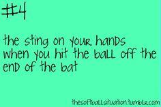 the softball situation. Softball problem