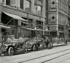 Main Street Memphis Tennessee 1910