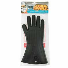 Star Wars Darth Vader Oven Glove - Silicone Heat Resistant for Grilling, barbequeing and cooking.