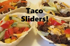 Tasty Taco Sliders #