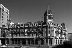GUÍA ARQUITECTURA DE MADRID. Fundación Arquitectura COAM. Exhibition Hall Comunidad de Madrid, Real Compañía Asturiana de Minas Building. allende arquitectos. Madrid, 1990