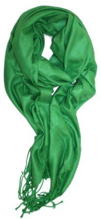 LibbySue-A Luxurious Pashmina Scarf in Beautiful Solid Colors