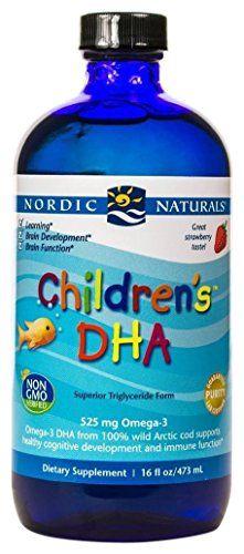 From 29.30 Nordic Naturals Children's Dha Liquid Strawberry 16 Fl.oz