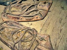 opinci (in Peasant Museum from Criscior)-old shoes Mountain Climbing Gear, Old Shoes, Museum, Traditional, Lifestyle, Illustration, Pictures, Photos, Illustrations