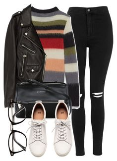 Untitled #6945 by laurenmboot on Polyvore featuring Jakke, Topshop, H&M, Givenchy and Yves Saint Laurent