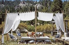 """Part 2 of our Yosemite Festival Wedding is up! Loving this tent design, right?! Lots more eye candy over #onGWS today {direct link in profile} Big shout…"""