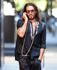 Russell Brand - Celebrated 10th Sobriety Anniversary in December 2012