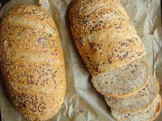 Tökéletes házi kenyér Hungarian Desserts, Hungarian Recipes, Bread Recipes, Cooking Recipes, Bread And Pastries, Diy Food, Food Ideas, Baked Goods, Food To Make