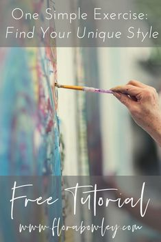 What is Your Painting Style? How do you find your own painting style? What is your painting style? Art Painting, Art Instructions, Painting Style, Acrylic Painting Lessons, Intuitive Art, Acrylic Painting For Beginners, Art, Flora Bowley, Modern Art Abstract