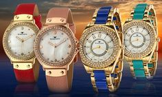 Tavan Women's Careen or Maiden Watch. Multiple Styles from $29.99–$34.99. Free Returns.