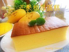 Aunty Young(安迪漾): 芒果相思蛋糕(Mango Ogura Cake) Baking Recipes, Cake Recipes, Dessert Recipes, Mango Recipes, Sweet Recipes, Ogura Cake, Mango Cake, Sweet Dough, Doughnut Cake