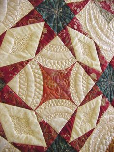"Quilting by Myrna Ficken:  "" Creating Spaces"" workshop"