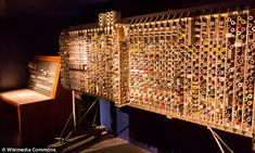 Changing the course of history: After the war, Alan Turing created the first practical designs for a stored-program computer called the Automatic Computing Engine (ACE), pictured