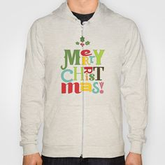 Merry Christmas! Hoody by Noonday Design - $42.00