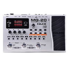 About this NUX MG20 Guitar Modeling Multi FX Pedal MG20 is the floor guitar processor with the lot! It has a 32bit float point DSP for better sound and True Simulation of Analog Circuits (TSAC) techno...
