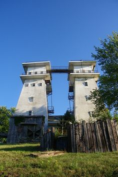 Irish Hills, Michigan.  I loved going up in these towers.