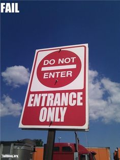 To enter or not to enter
