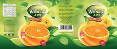 valencia juice on Behance