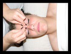 Facial massage routine