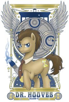 This link explains all about Doctor Whooves - plus it's an awesome picture! My husband Reggie got this shirt at comic con 2012!