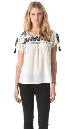 alexa blouse by ULLA JOHNSON